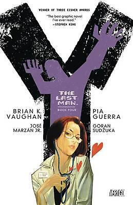 Y: The Last Man, Book Four by Brian K. Vaughn (English) Paperback Book