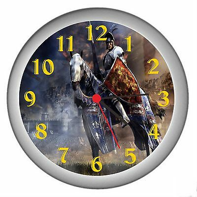 Knight Room Decor Wall Clock
