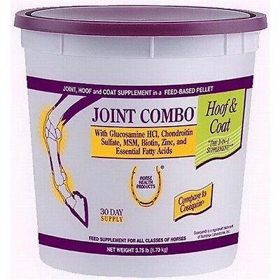 Joint Combo Hoof Coat Support Supplement Horse MSM Chondroitin Glucosamine 3.75#