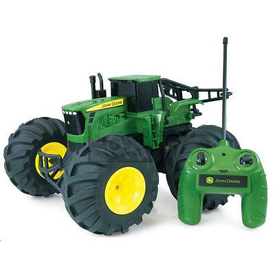 John Deere Monster Treads 9.6v Remote Control Tractor