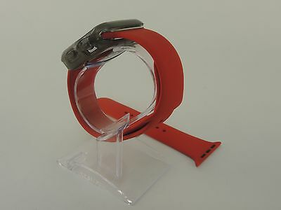 Red Sports Band Silicon Replacement Strap For Apple Watch 38MM