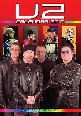 U2 2017 Kalender (Dream) Neu