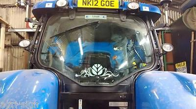 Rear Window Swirl New Holland Fendt Case Massey John Deere Claas Tractor Decal