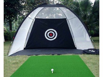 Indoor Outdoor Chipping Driving Golf Practice Set Trainning Net Hitting Cage