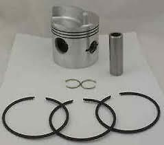 "Mercury Mariner Piston Kit 35-150Hp In Line Low Dome .015"" Oversize 18-4515"