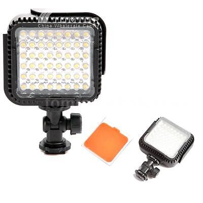 CN-LUX480 48 LED Video Light Lamp for Canon Nikon Camera DV Camcorder