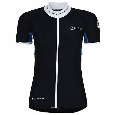 Dare 2b Womens Upstroke Full Zip Short Sleeve Cycling Jersey / T-Shirt