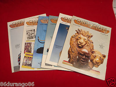 Wood Carving Magazines Chip Chats 2003 Entire Year Chip Relief Power Carving