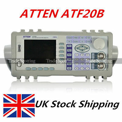 ATTEN ATF20B DDS Signal Function Waveform Generator 20MHZ 100MSa/s UK Shipping