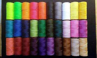 50 Metres Of Thread Waxed Linhasita For Macrame Variety Of Colours A Choose