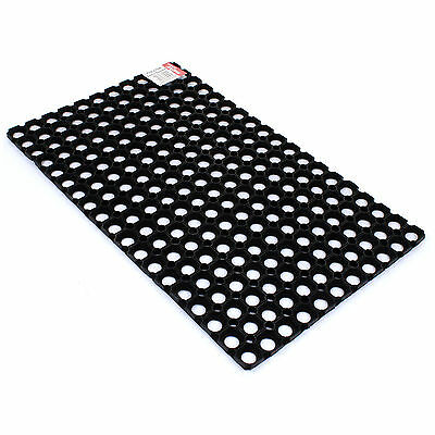 Large Rubber Ring Heavy Duty Entrance Door Mat Doormat Floor Mat Indoor Outdoor