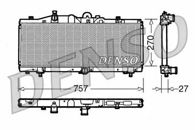 Denso Radiator DRM09010 Replaces 46773321 731979