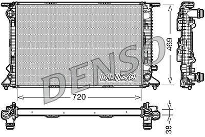 Denso Radiator DRM02024 Replaces 8K0121251H
