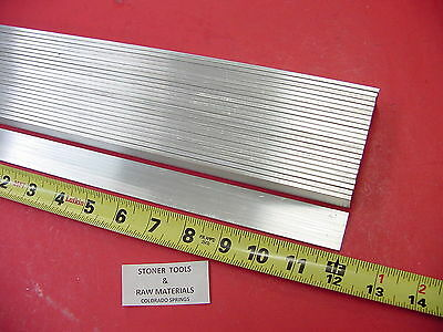 "24 Pieces 1/8"" X 3/4"" ALUMINUM FLAT BAR 12"" long 6061 T6511 New Mill Stock"