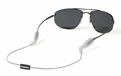 "Croakies ARC System Silver 14"" Reg/XL Sunglass Sport Retainer NEW FREE SHIPPING"