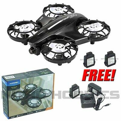 Blade BLH9080 Inductrix 200 FPV Drone Quadcopter BNF w/ Free 2X Extra Battery
