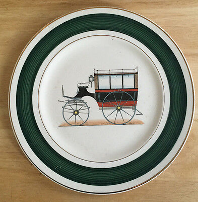 Imperial by Salem China Company Service Plates 23 Karat Gold Antique Coach 51