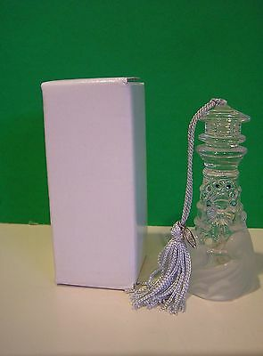 LENOX CRYSTAL LIGHTHOUSE ORNAMENT NEW in BOX