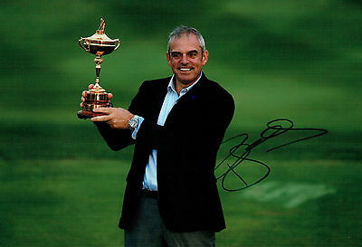 Paul McGINLEY Ryder Cup Golf Winning Captain SIGNED AUTOGRAPH AFTAL COA