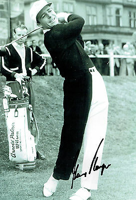 Gary PLAYER SIGNED Autograph 12x8 St Andrews GOLF Photo AFTAL COA