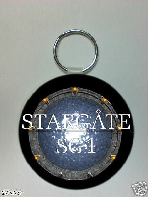 STARGATE SG1 ROUND PICTURE KEYRING 60mm Dia