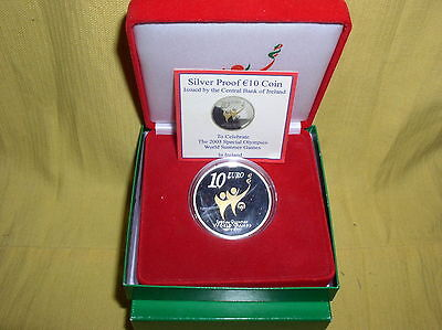 Irland 10 Euro Silber 2003 PP  Special Olympics
