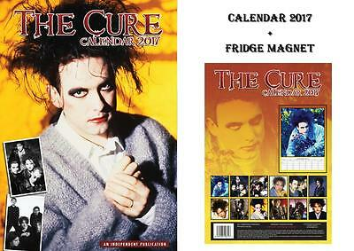 The Cure 2017 Calendar + The Cure Fridge Magnet