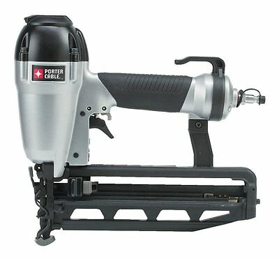 "PORTER CABLE FN250C 1"" to 2-1/2"" 16-Gauge Finish Air Nailer Nail Gun Kit"
