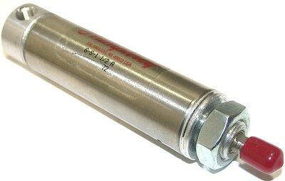 "New Humphrey 1 1/2"" Spring Return 1 1/16"" Bore Stainless Air Cylinder 6-S-1.5 A"