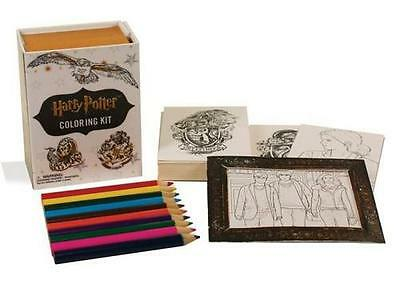 NEW Harry Potter Coloring Kit  By Running Press Paperback Free Shipping