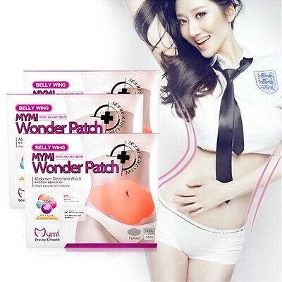 5X Korean MYMI Wonder Patch Weight Loss Patches Belly Wing Abdomen Treatment