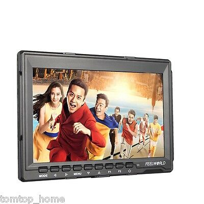 Feelworld FW759 7 Inches HD IPS LCD 1280x800 Field Monitor HDMI For Canon Nilkon