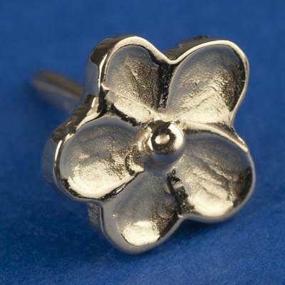 Pin Freimaurersymbol FORGET ME NOT gold 18 kt CH