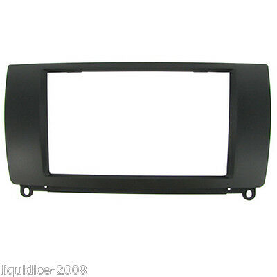CT23RO01 ROVER 75 1999 to 2005 BLACK DOUBLE DIN FASCIA ADAPTER PANEL PLATE