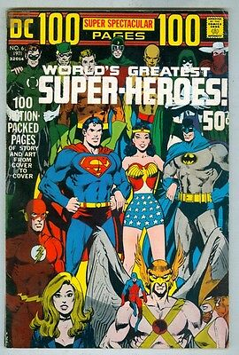 DC 100 Page Super Spectacular #6 G/VG 1971 Worlds Greatest Superheroes
