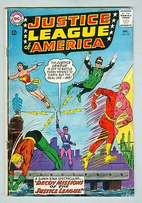 Justice League of America #24 December 1963 G/VG