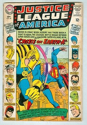 Justice League of America #38 September 1965 G/VG