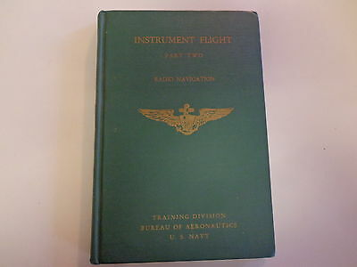 Radio Navigation for Pilots 1943 WWII United States Navy Training Book