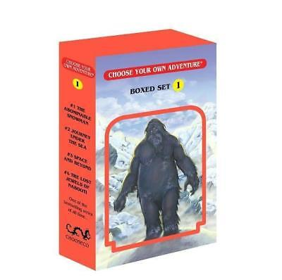 NEW Choose Your Own Adventure 4-Book Set, Volume 1 By Chooseco Paperback