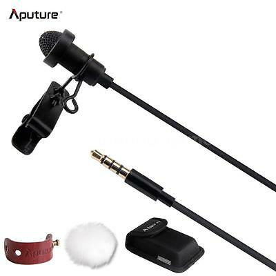 Aputure A.lav ez Broadcast Lavalier Condenser Microphone+Wind Shield HOT I5M9