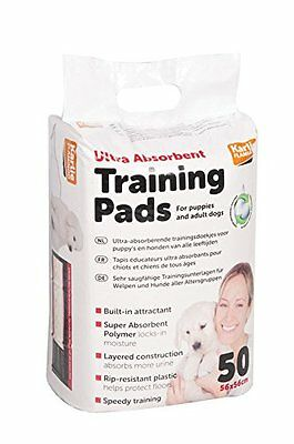 ULTRA ABSORBENT PUPPY DOG TRAINING PADS adult toilet 50 30 14 Karlie Flamingo