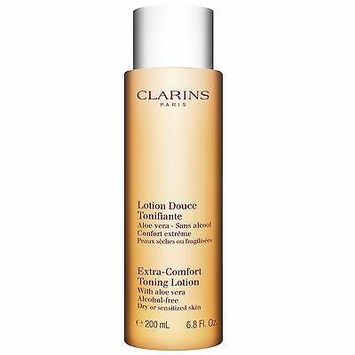 Clarins Extra-Comfort Toning Lotion Dry/Sensitive 200ml BRAND NEW