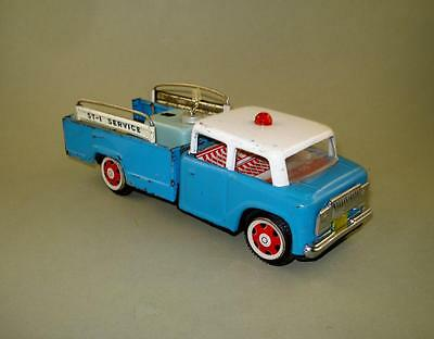 Vintage China Friction Tin Toy Car MF 715 Wrecker Truck