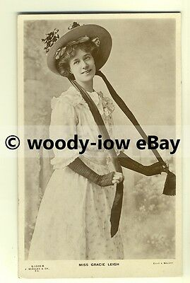 b2031 - Stage Actress - Grace Leigh - postcard