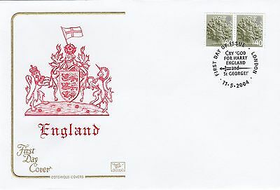 (84988) GB England Cotswold FDC 40p - London 11 May 2004 NO INSERT