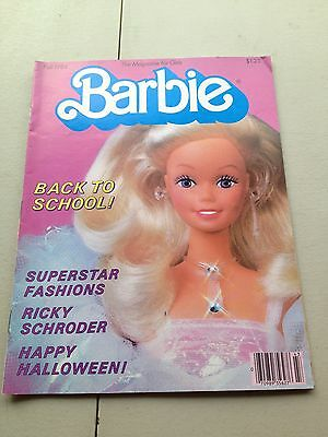 Barbie Fall 1984 Magazine Doll Book Back To School Ricky Schroder
