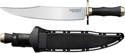 Cold Steel 39LABMS Natchez Bowie in O-1 Steel Fixed Blade