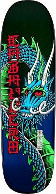 Powell Peralta Steve Caballero BAN THIS Skateboard Deck GREEN/BLUE