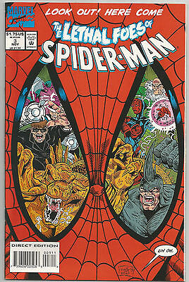 The Lethal Foes Of Spider-Man # 3 * 1993 * Near Mint