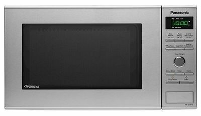 Panasonic 950W 23L Inverter Microwave Stainless Steel Nn-Sd381S